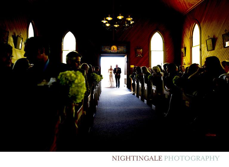 Old St. Hilary's Church Wedding-Nightingale Photography