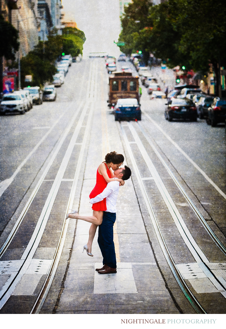 Engagement Session in Downtown San Francisco1