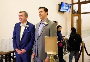 City Hall San Francisco Gay Wedding