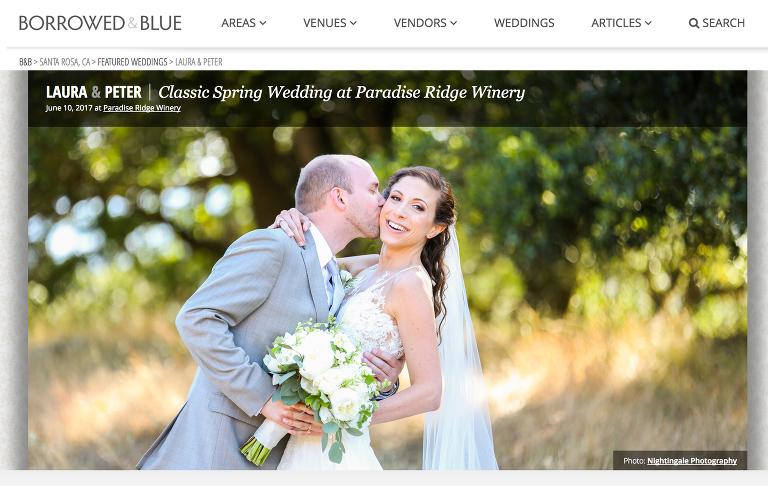 Paradise Ridge Winery Wedding