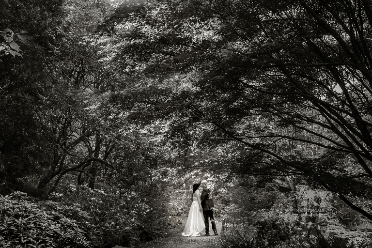 UC Botanical Garden Wedding