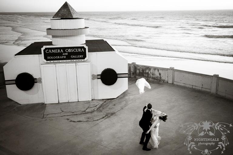 Cliff House wedding nightingale photography