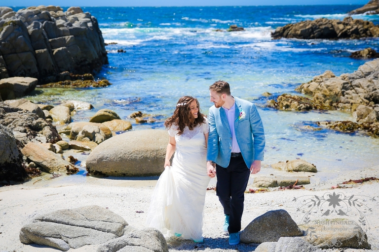 Asilomar State Beach Wedding Nightingale Photography