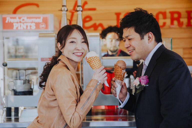 pre-wedding photos in San Francisco