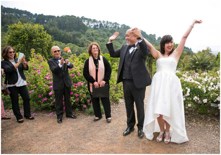 UC Berkeley Botanical Garden wedding photos