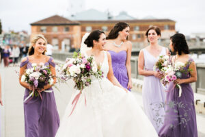 wedding photographer in san francisco - bride with bridesmaids
