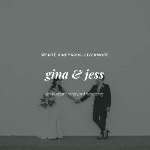 bay area wedding photographer - same sex couple married at vineyard