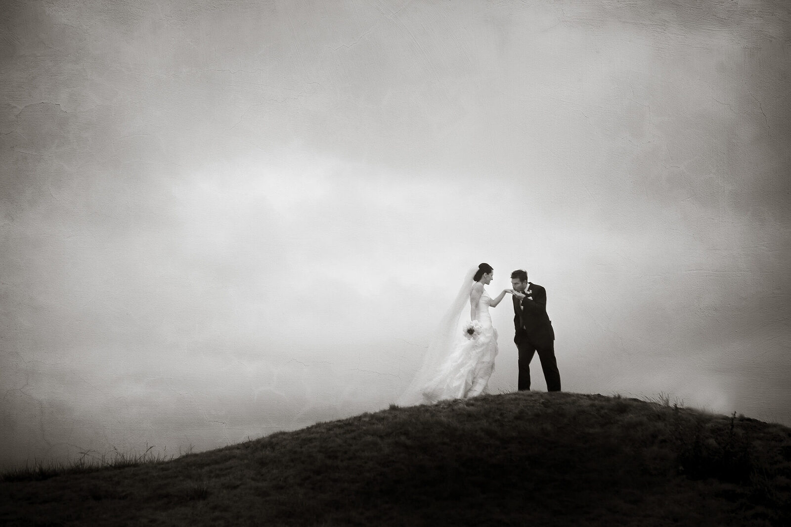 San Francisco wedding photographer - bride and groom portrait