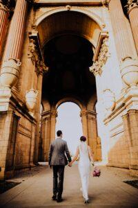 palace of fine arts san francisco wedding photos